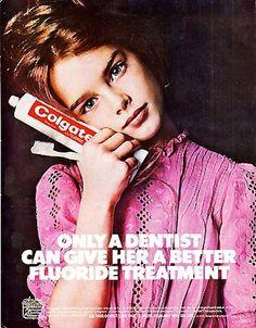 Brooke Shields - Colgate ad, 1975