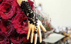 A Set Gorgeous Gothic Vintage Black Flower Lace by less4more, $6.00