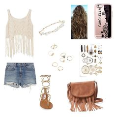 """""""coachella"""" by giorgia-brea on Polyvore featuring Alexander Wang, Steve Madden, Apt. 9, Casetify and Robert Rose"""