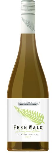 Fern walk Sauvignon Blanc from BC, Canada. A crisp dry white wine with a scent of tropical fruit and the taste of citrus.