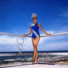 Miss Universe 1965. Apasra Hongsakula from Thailand.