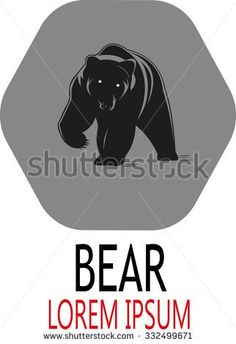 Bear Logo Stock Photos, Images, & Pictures | Shutterstock