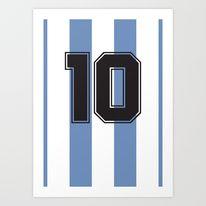 Diego Maradona 1986- FIFA World Cup Legends Posters