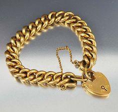 Gold Rings Jewelry, Heart Jewelry, Body Jewelry, Jewelery, Victorian Jewelry, Antique Jewelry, Vintage Jewelry, Chanel Bracelet, Antique Bracelets