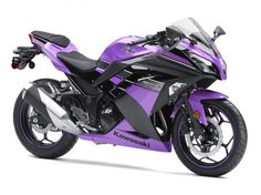 Purple motorcycle ❤❤❤