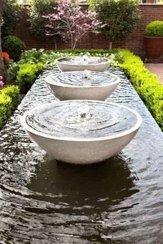 SUCH A BEAUTIFUL PLACE TO RELAX, LISTENING TO THE WATER ,FLOWING IN Fountain Garden Ponds Design Ideas E A on