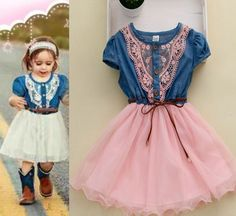whatgoesgoodwith.com cute-pink-dresses-for-girls-08 #cuteoutfits