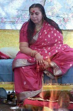 Sahaja Yoga meditation leader -  Her Holiness Mataji Shri Nirmala Devi