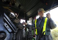Steam locomotive on track for St. Jacobs run