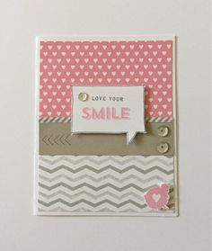 """Create with Liz: """"Love your Smile"""" Card"""