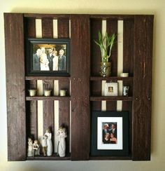 Pallet Shelves by decorativewoods on Etsy, $50.00