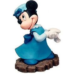 WDCC Mickey Christmas Carol  Minnie Mouse Ornament Mrs Cratchit