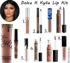 Dupes Dolce K Kylie Lip Kit