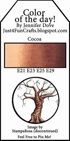 Color of the Day - Cocoa by Jenn Dove