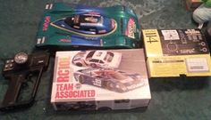 Team associated rc10L Vintage ROLLER w/ futaba, charger, original box,& upgrades #TeamAssociated
