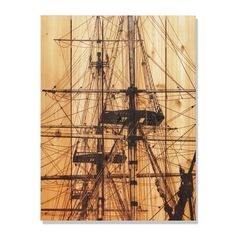 Tall Ship 28x36-inch Indoor/ Outdoor Full Color Wall Art