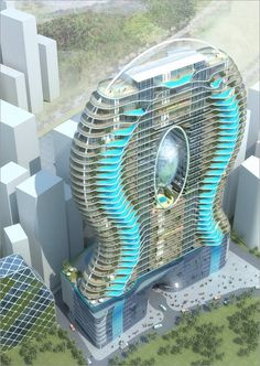 Pools are the new balconies in a skyscraper that is under construction in Mumbai, India. Not only does it includes more than 200 apartments, thr ...