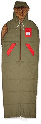 Poler Men's The Classic Napsack Wearable Sleeping Bag, Bu...