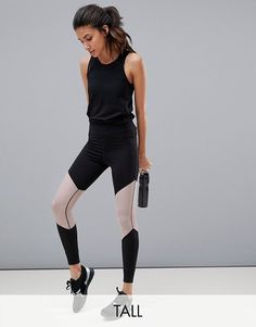 344caea03af10b ASOS 4505 tall training 7/8 legging with breathable mesh. #asos Best  Leggings