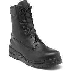 1950-1 Rocky Men's Basics Uniform Boots - Black