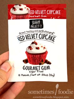 Sometimes Foodie: Project 7 Red Velvet Cupcake Gum - Target