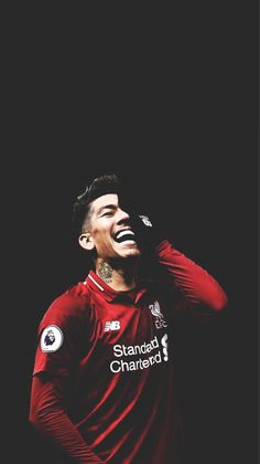 Firmino - # Football red till i die…. Liverpool Anfield, Liverpool Players, Liverpool Football Club, Liverpool Legends, Liverpool Fc Wallpaper, Liverpool Wallpapers, Lfc Wallpaper, Football Is Life, Football Soccer
