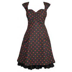 Ecouture by Lund - Norah - kjole i økologisk, bomuld, prikket Lund, Summer Dresses, Inspiration, Clothes, Vintage, Black, Style, Fashion, Curve Dresses