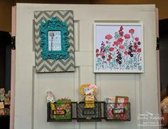 Inking Idaho on the Road Displays Part 3 Stampin' Up! Rubber Stamping, Stamping Up, Becky Roberts, Idaho, Framed Art, Diy Home Decor, Room Ideas, Gallery Wall, Paper Crafts