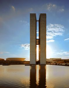 Todd Eberle Photography: The Congress Building, Oscar Niemeyer, #Brasília, Brazil, 1998