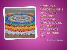 #DailyQuote Two sides of coin: #devotion and #patriotism