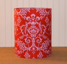 Pretty Please Drum Lampshade by Sassyshades on Etsy, $55.00