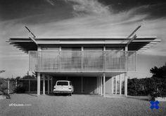 Paul Rudolph /// Harkavy Residence /// Sarasota, Florida, USA /// 1958