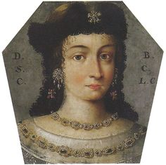 Coffin Portrait of Domicella Barbara Polish Clothing, Coffin, Mona Lisa, Bohemian, Antiquities, 17th Century, Poland, Face, Artwork