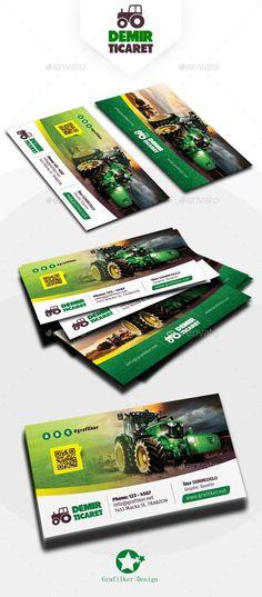 Garden Landscape Business Card Template PSD, InDesign INDD. Download here: https://graphicriver.net/item/garden-landscape-business-card-templates/17641543?ref=ksioks