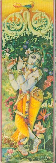 Krishna with his Flute