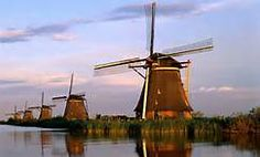 Not only do windmills add beauty to the landscape, they convert wind into energy. WOW!