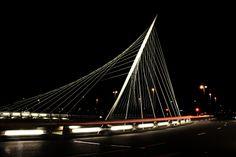 Calatrava bridge 'Luit', Hoofddorp, the Netherlands. Picture credits www.paulabspoel.nl 22.02.14