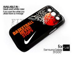 AJ 854 Basketball Never Stops nike For Samsung Galaxy S3 Fit on i9300 | FixCenter - Accessories on ArtFire