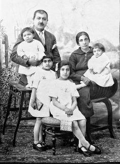 Armenian Family - Isfahan Iran 1920's