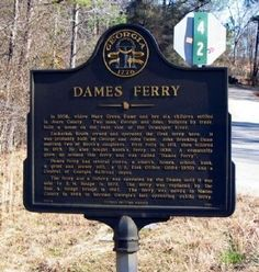Dames Ferry Marker Photo, Click for full size
