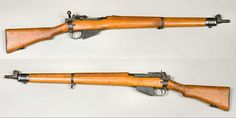 Lee-Enfield Rifle, No. 4 Mk I - standard issue British army rifle throughout WW2 I own one of these and I love it.