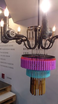 a ceiling lamp for hairdressers #2012 TWDW