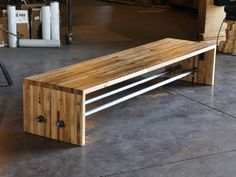 A Frame Bench by Vintage Industrial Furniture