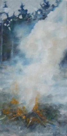 """The Burn"" - Original Fine Art for Sale - © Jeanette Jobson"