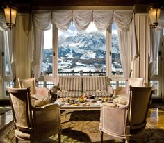 The Hotel Cristallo in Cortina d'Ampezzo - outstanding rooms, service, spa and above all amazing views of the mountains