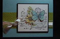 using Stampin Up Garden Collage