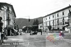 Vista di Piazza Cavour #borgosesia #piazzacavour #storica #piedmont #italy