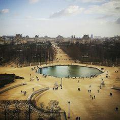 From la grande roue. Paris.