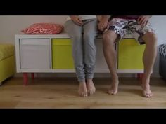 How to - IKEA Hack - Kallax Series - with Legheads Furniture legs and Furniture risers - YouTube