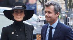 Kronprins Frederik støttede prinsesse Marie